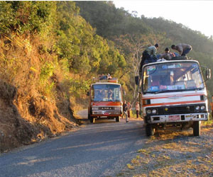 Burma's Highway of Death
